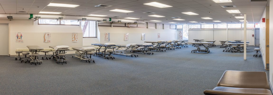 UConn DPT Lab space with mobilization tables